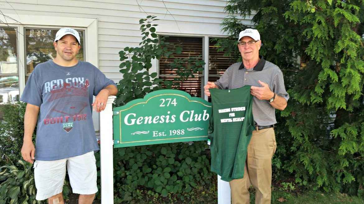 Honor Genesis Club's founding Executive Director, Kevin Bradley, with a gift to help the Clubhouse continue his mission. image