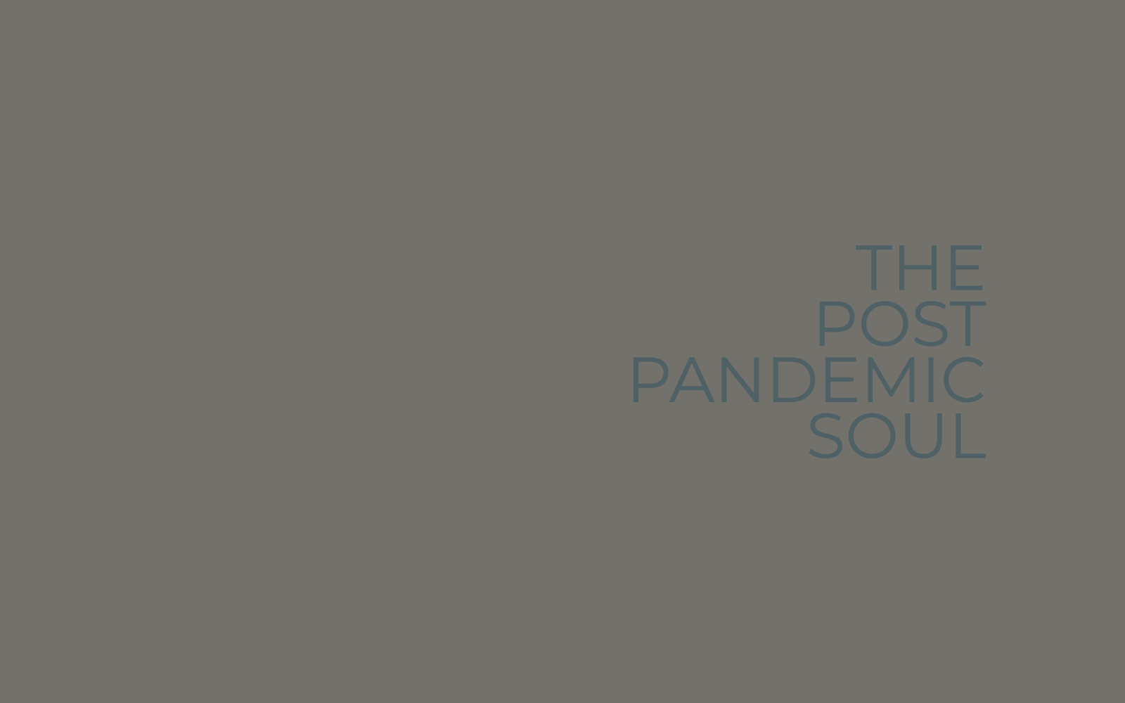 The Post Pandemic Soul image