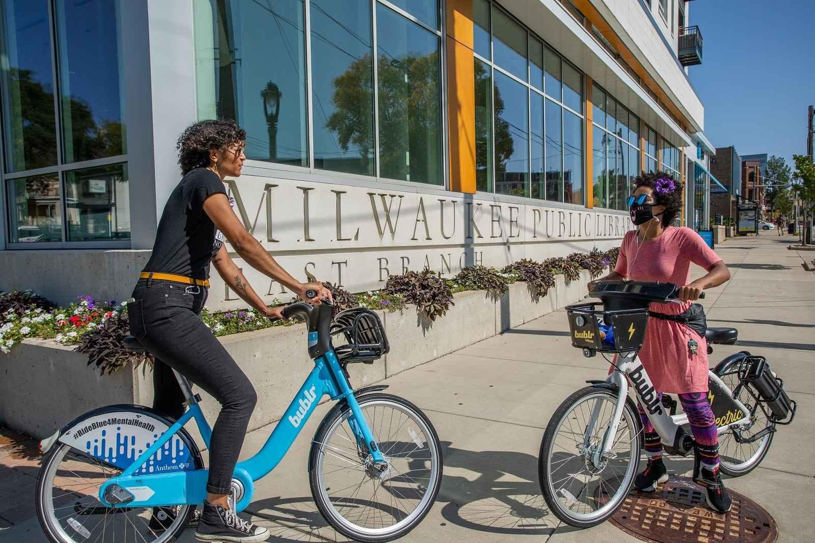 Bublr is your community based nonprofit bikeshare! image