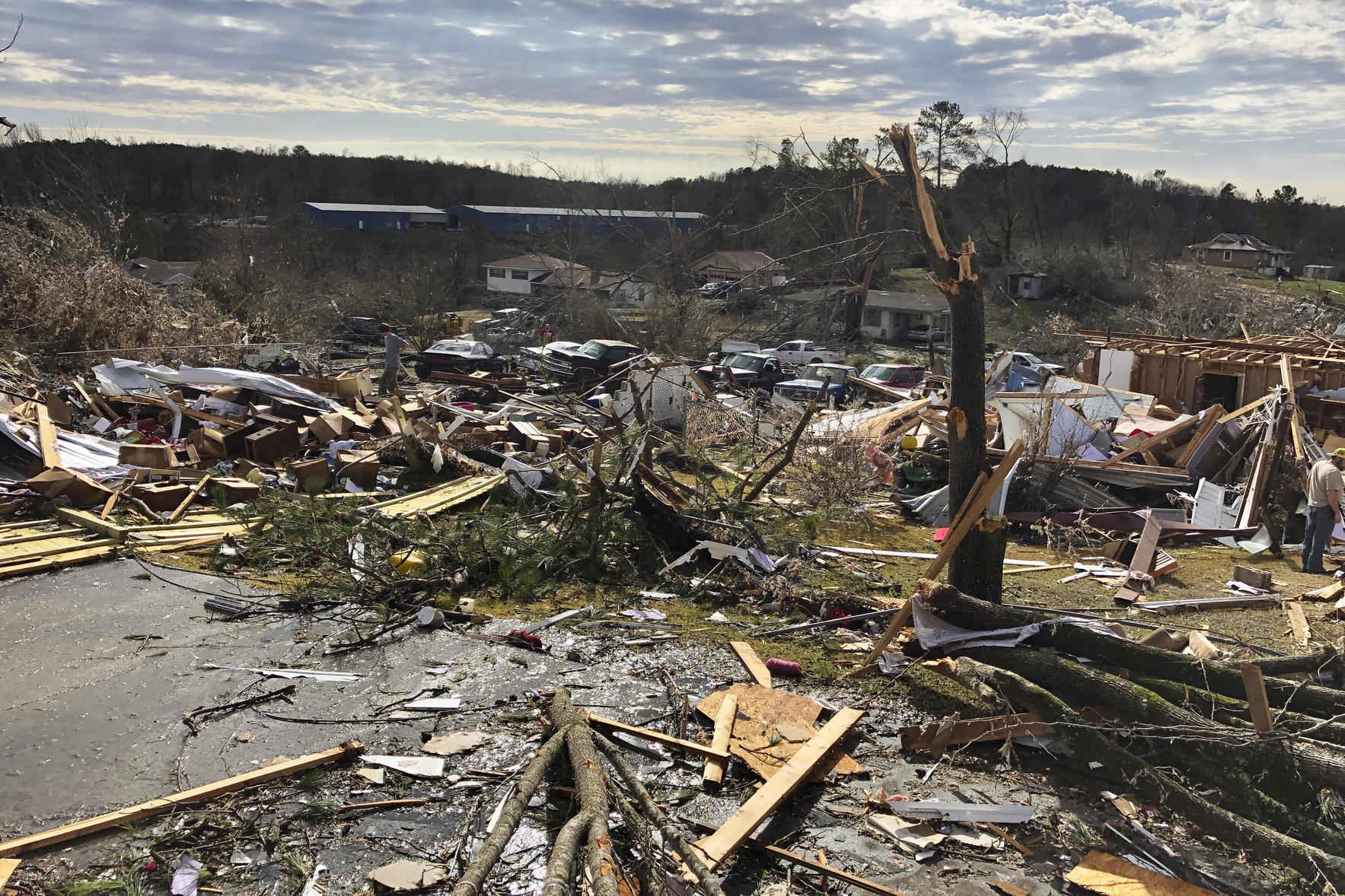 Tornadoes rip across several states! image