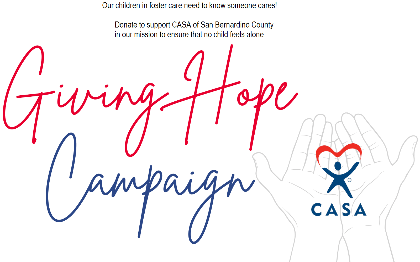 Help Give a Child in Foster Care Hope image