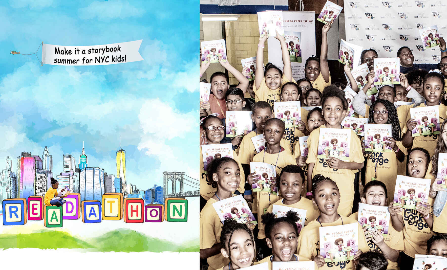 Make it a storybook summer for NYC kids!  image