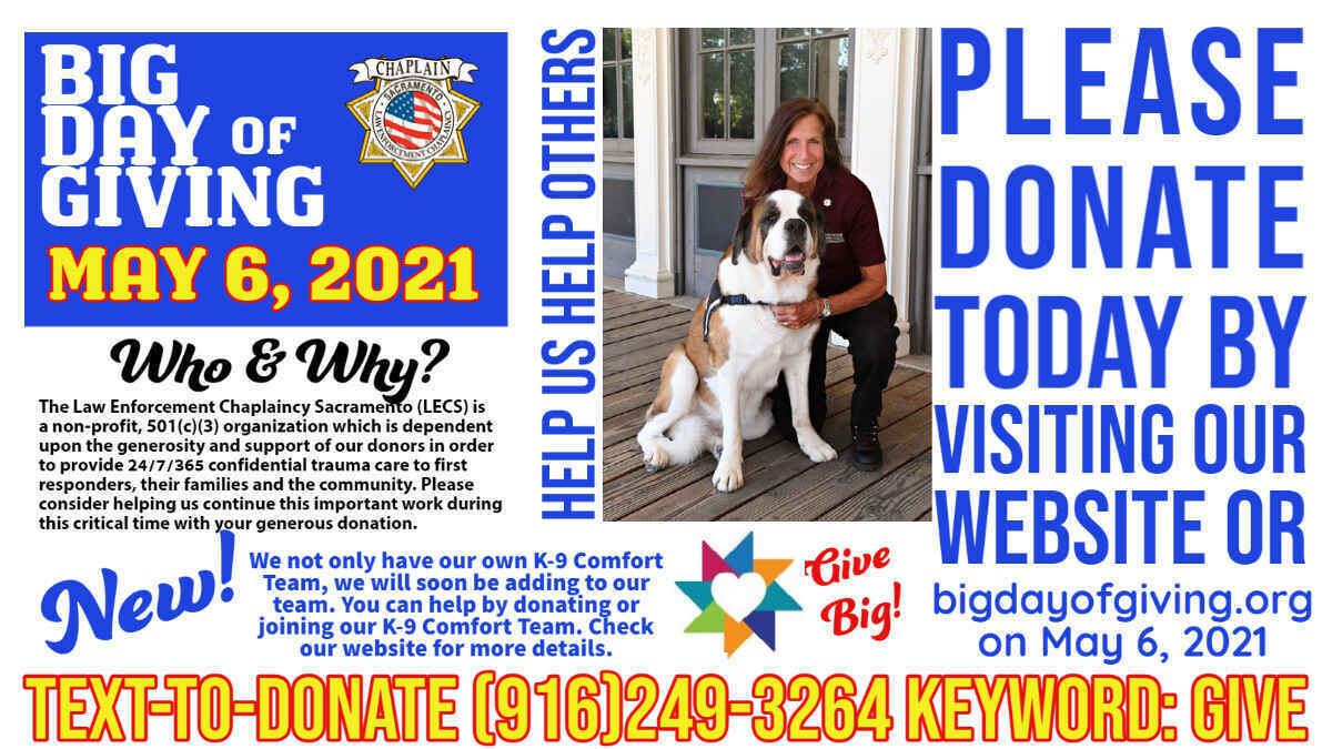Big Day of Giving is May 6, 2021 image