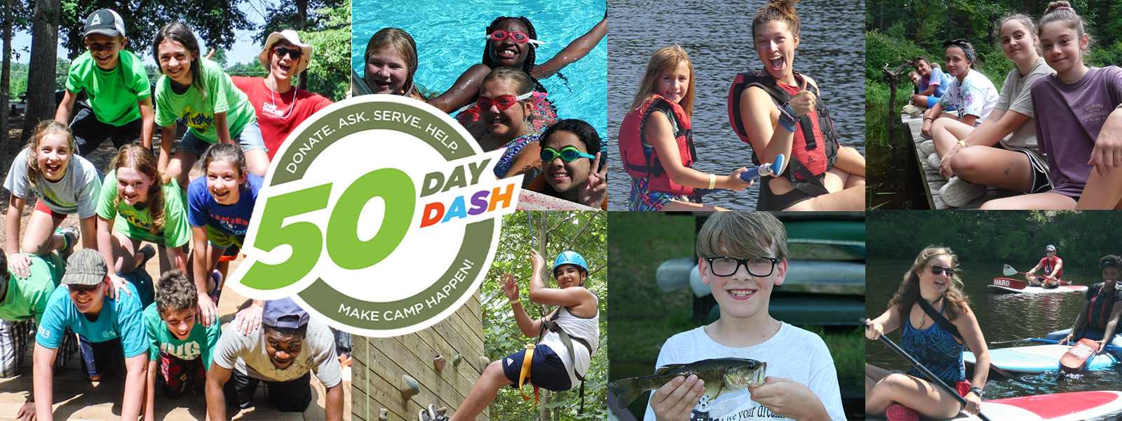 Give Today. Make Camp Happen For A Child This Summer! image