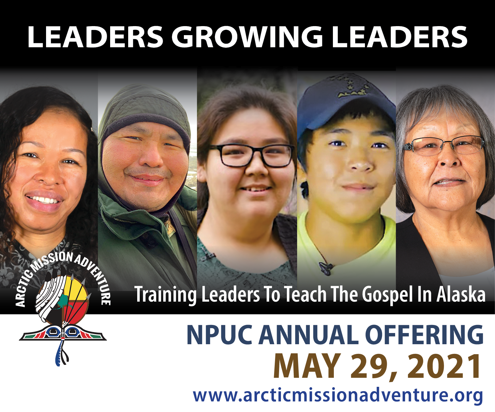 Be a Leader in the Lives of Alaska Native Leaders image