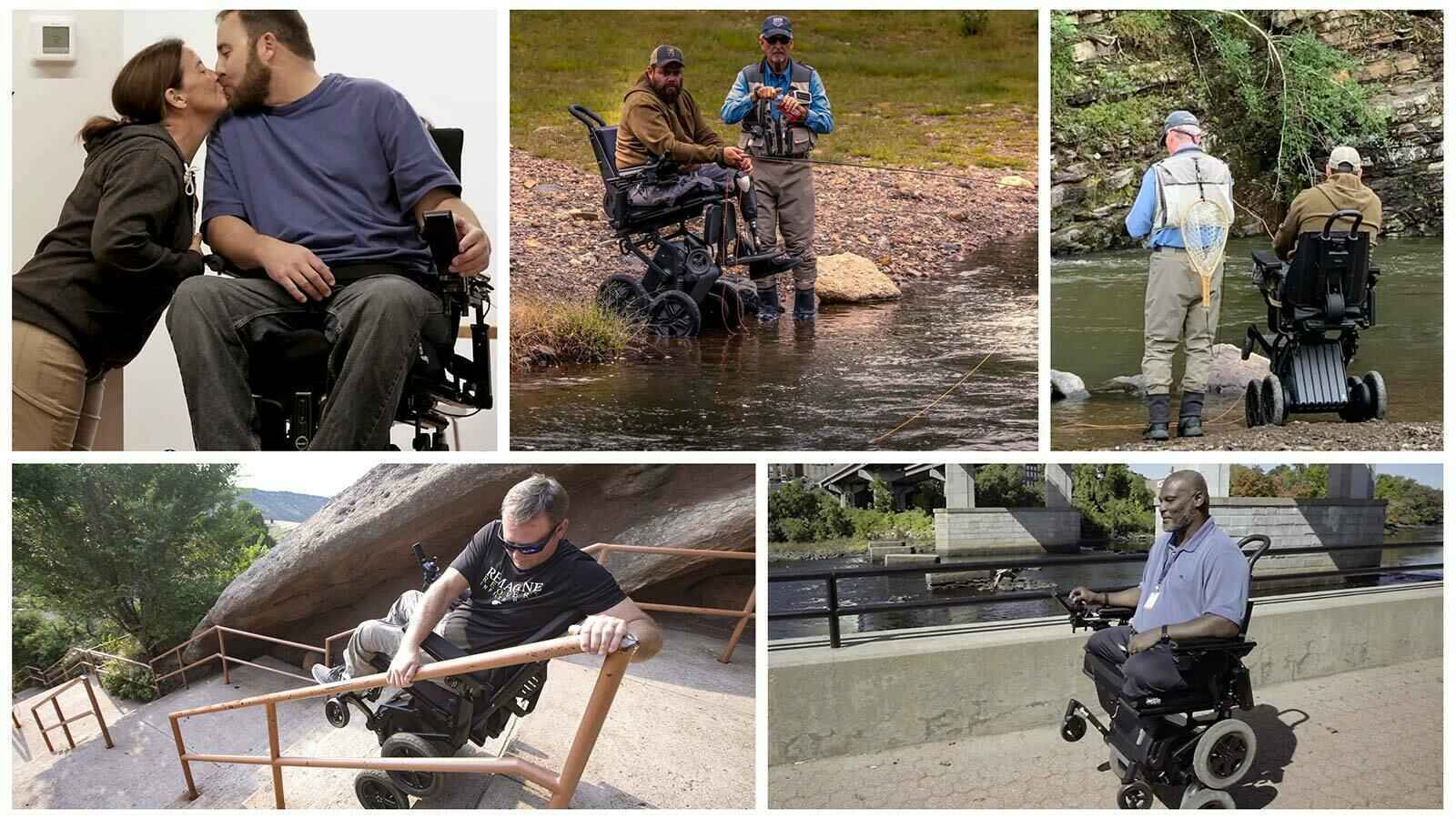 Help to donate 10 iBOT wheelchairs to 10 very deserving veterans. image