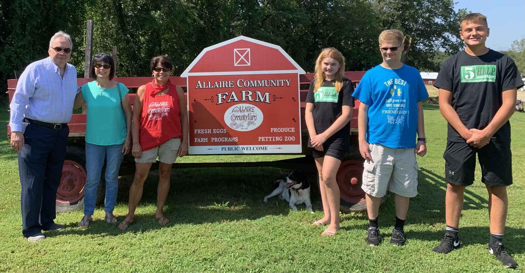 Burn The Mortgage Allaire Community Farm Fundraiser image