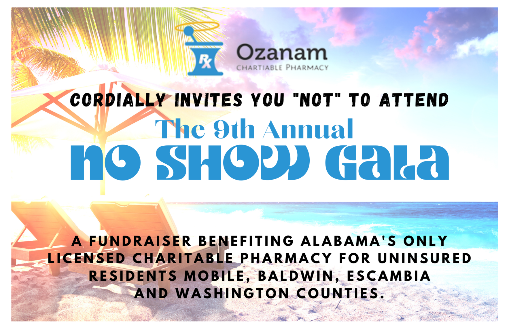 Invest in a Healthier Community with Ozanam's 9th Annual No Show Gala image