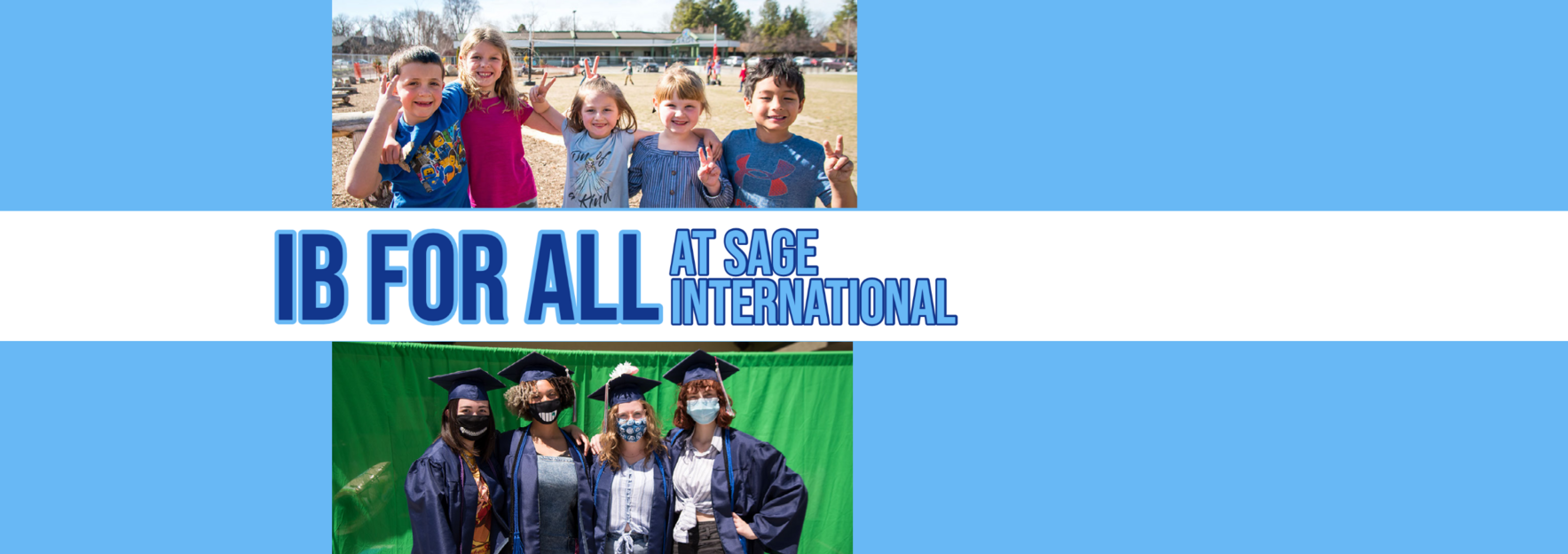 When you help 'Mind the Gap' you make our free, public, K-12 IB World School possible! image