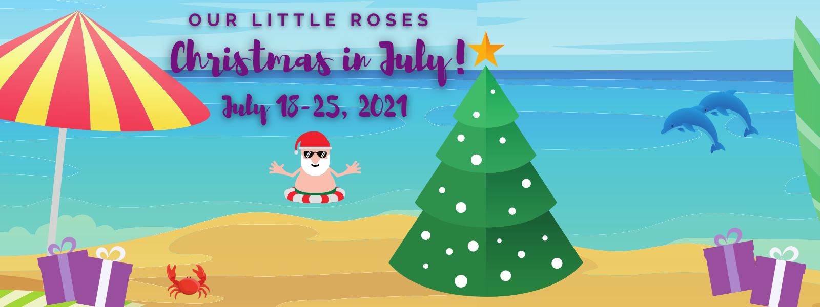 It's Christmas in July! image