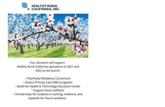 Healthy Rural California Launch Team image