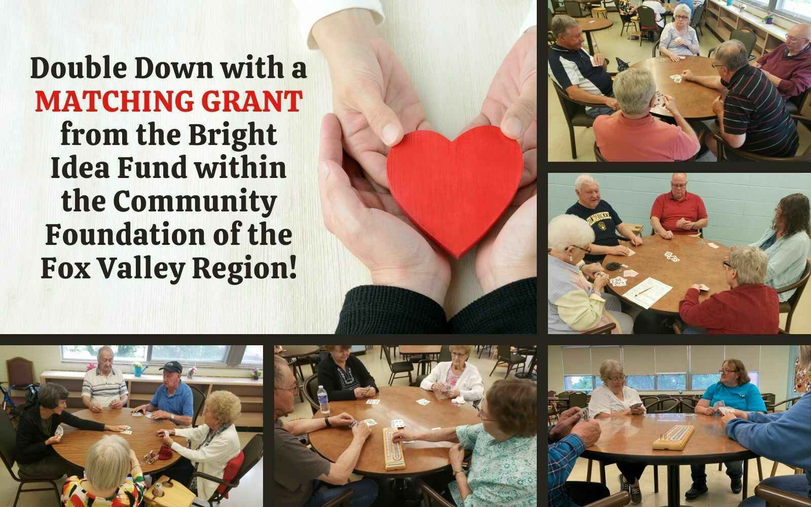"""Donate today to the $25,000 Matching Grant and help us continue to """"Build Momentum"""" for the future. image"""