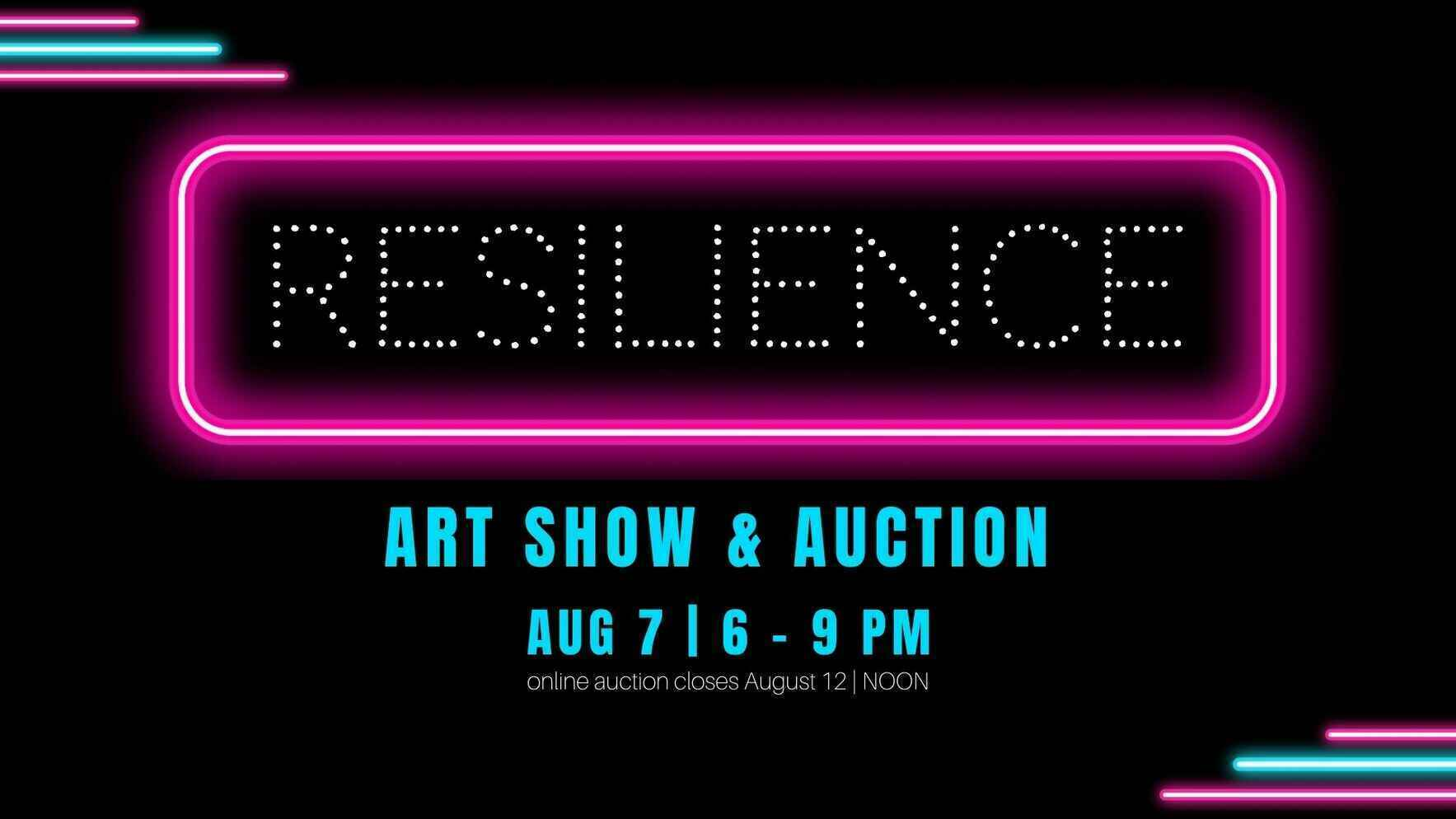 RESLILIENCE: Art Show & Auction for Calm Waters image