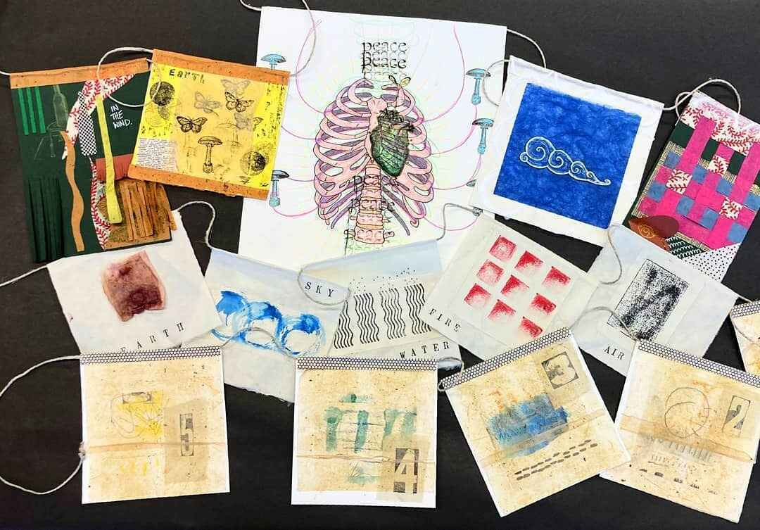 Participate in the R0 Prayer Flag Redux Art Project -  image