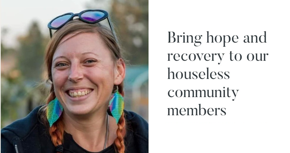 Bring hope and recovery to our houseless community members image