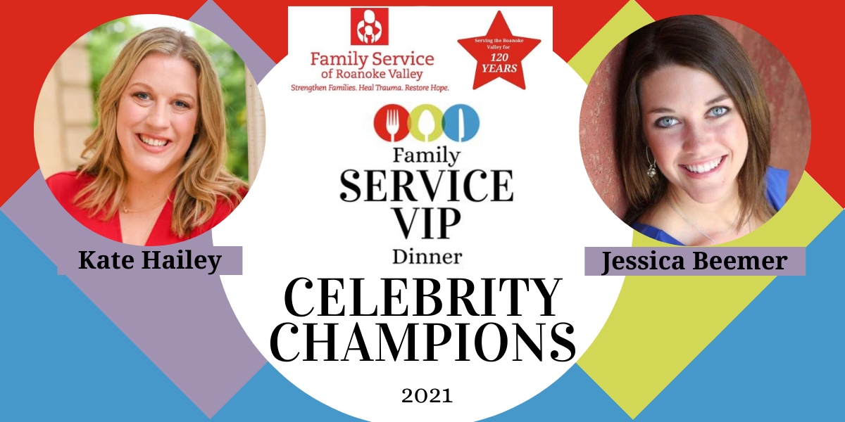 Join Kate Hailey and Jessica Beemer in helping Family Service restore health and hope for individuals in the Roanoke Valley! image