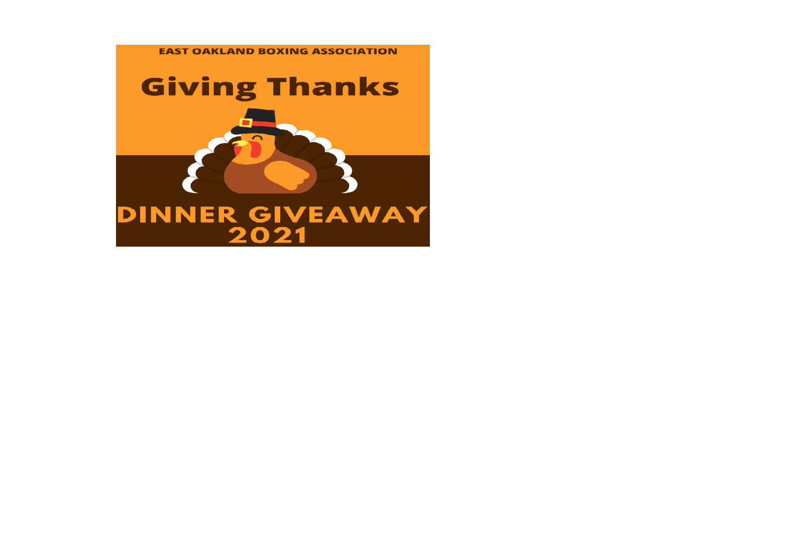 Please join EOBA and EBCOM to celebrate this season by providing 1,000 Oakland families with a holiday dinner including all the trimmings. image