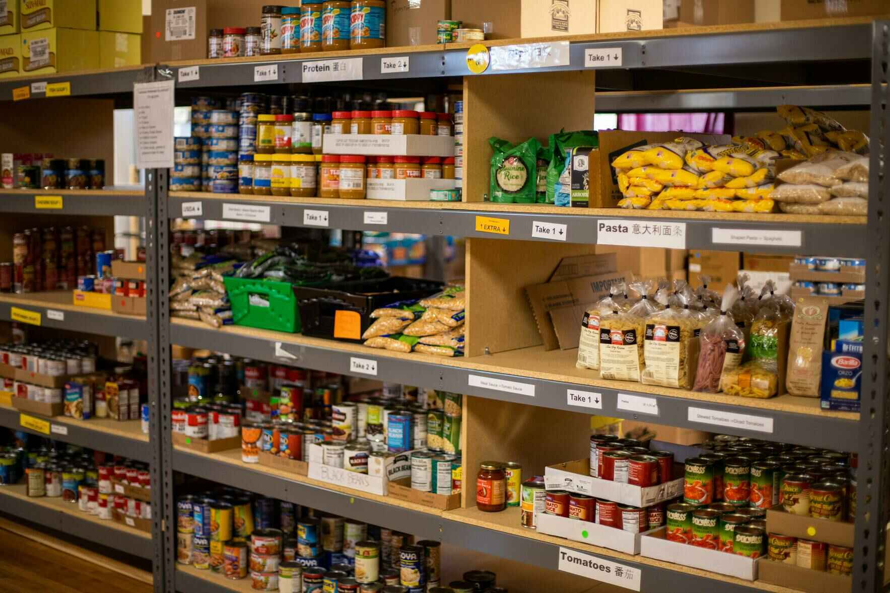 Help us fill our food pantry! image