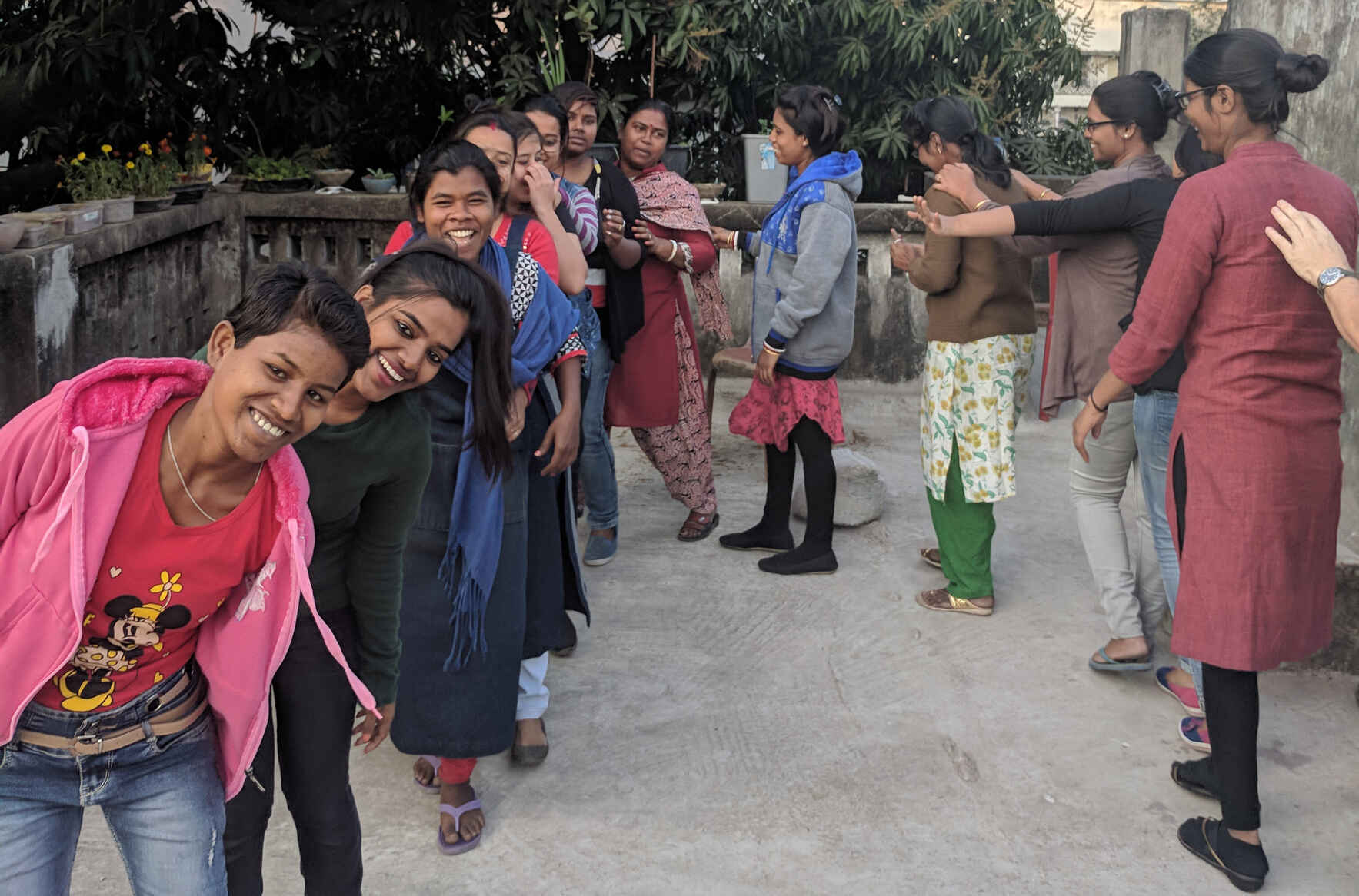 Help us create an oasis for survivors in Kolkata image