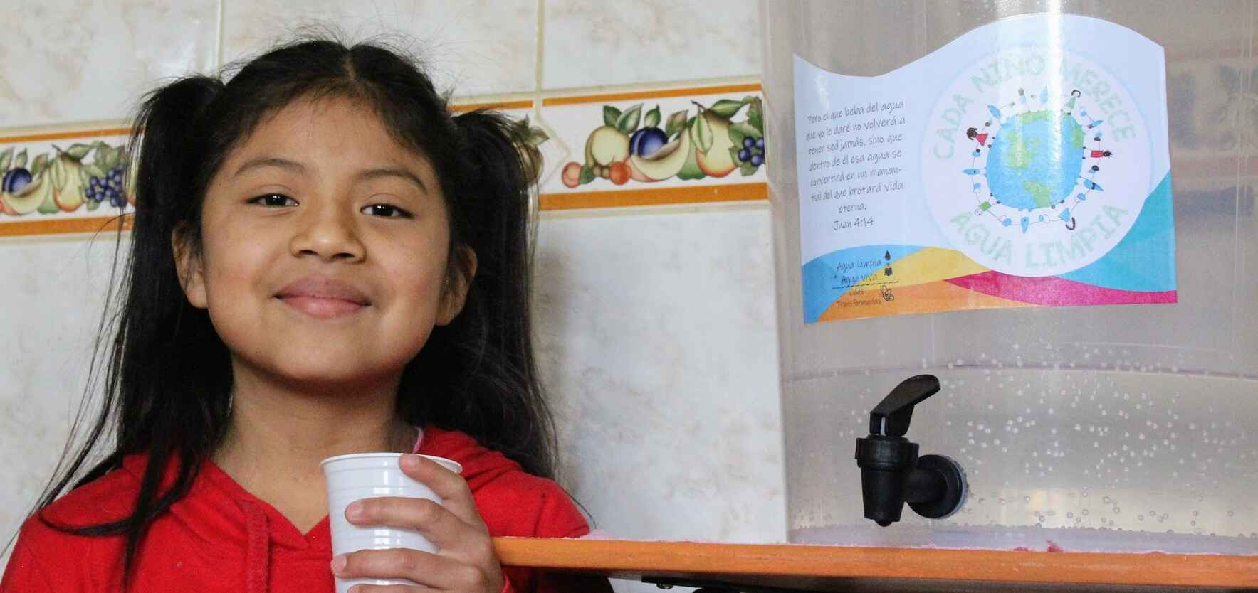 Every child deserves clean water image