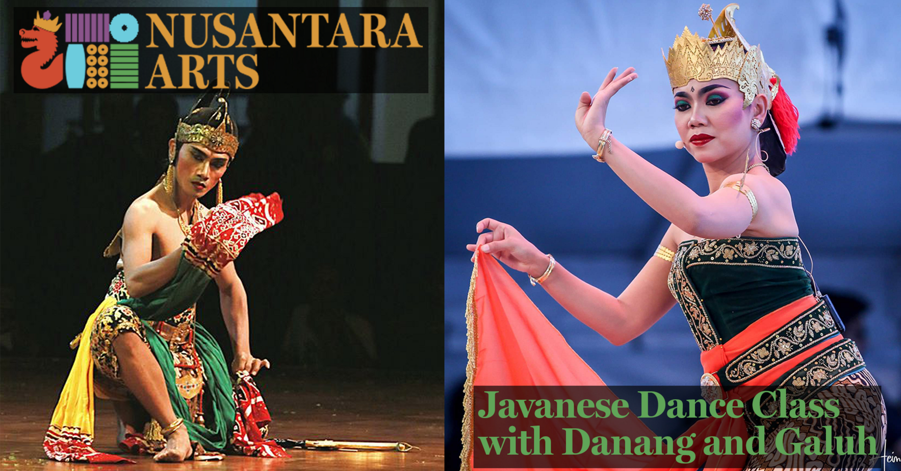 Javanese Dance with Danag and Galuh image
