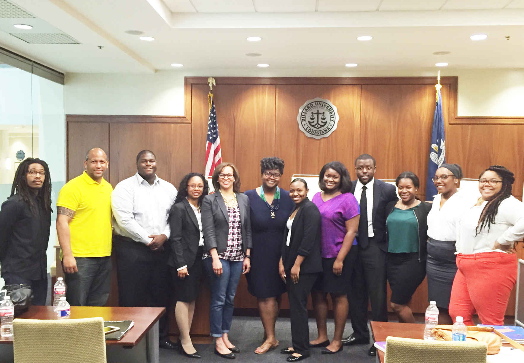 Help Dillard to become the nation's premier undergraduate institution for producing African American attorneys! image