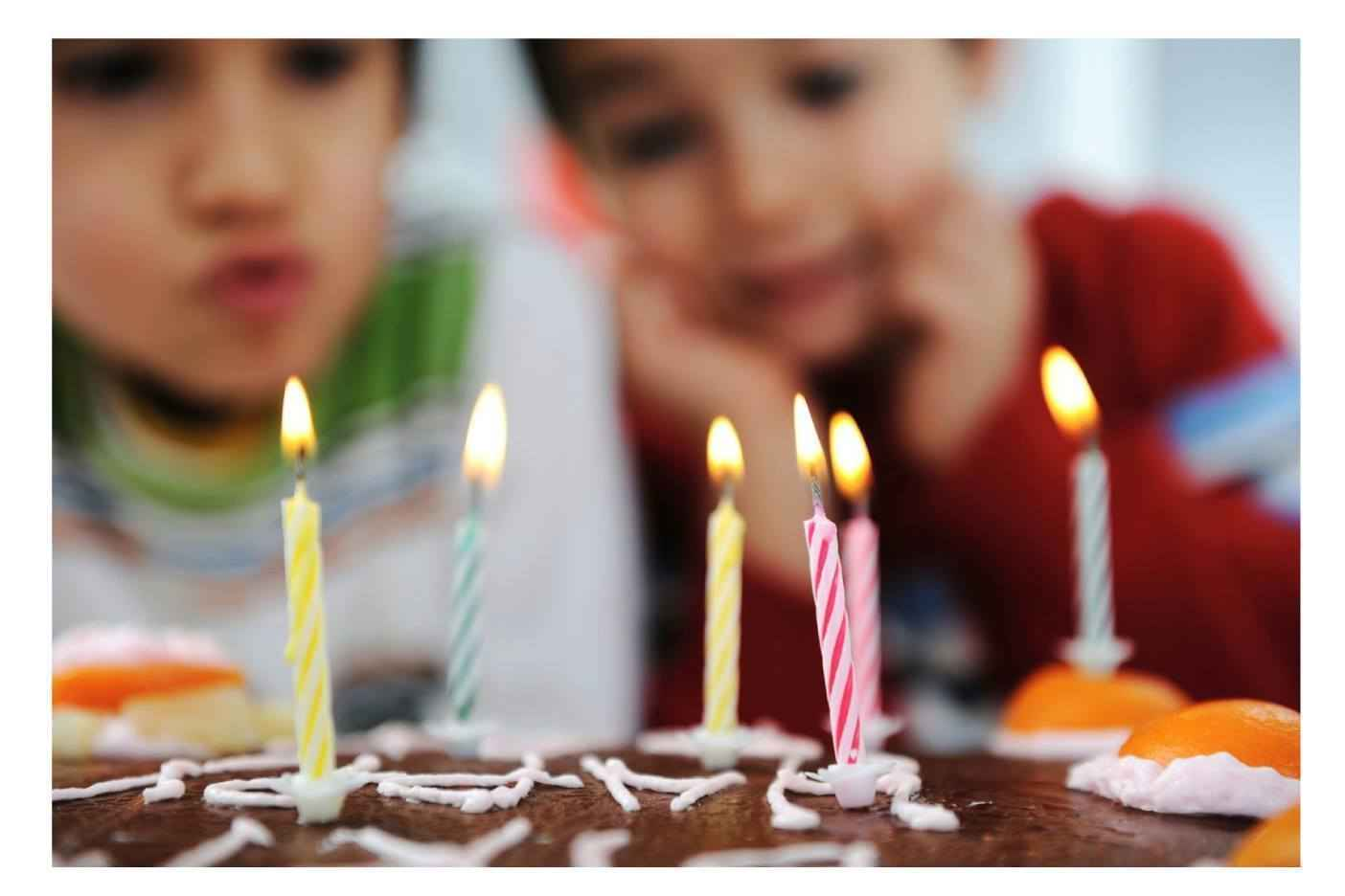 Each Birthday Happy- Every Child Celebrated image