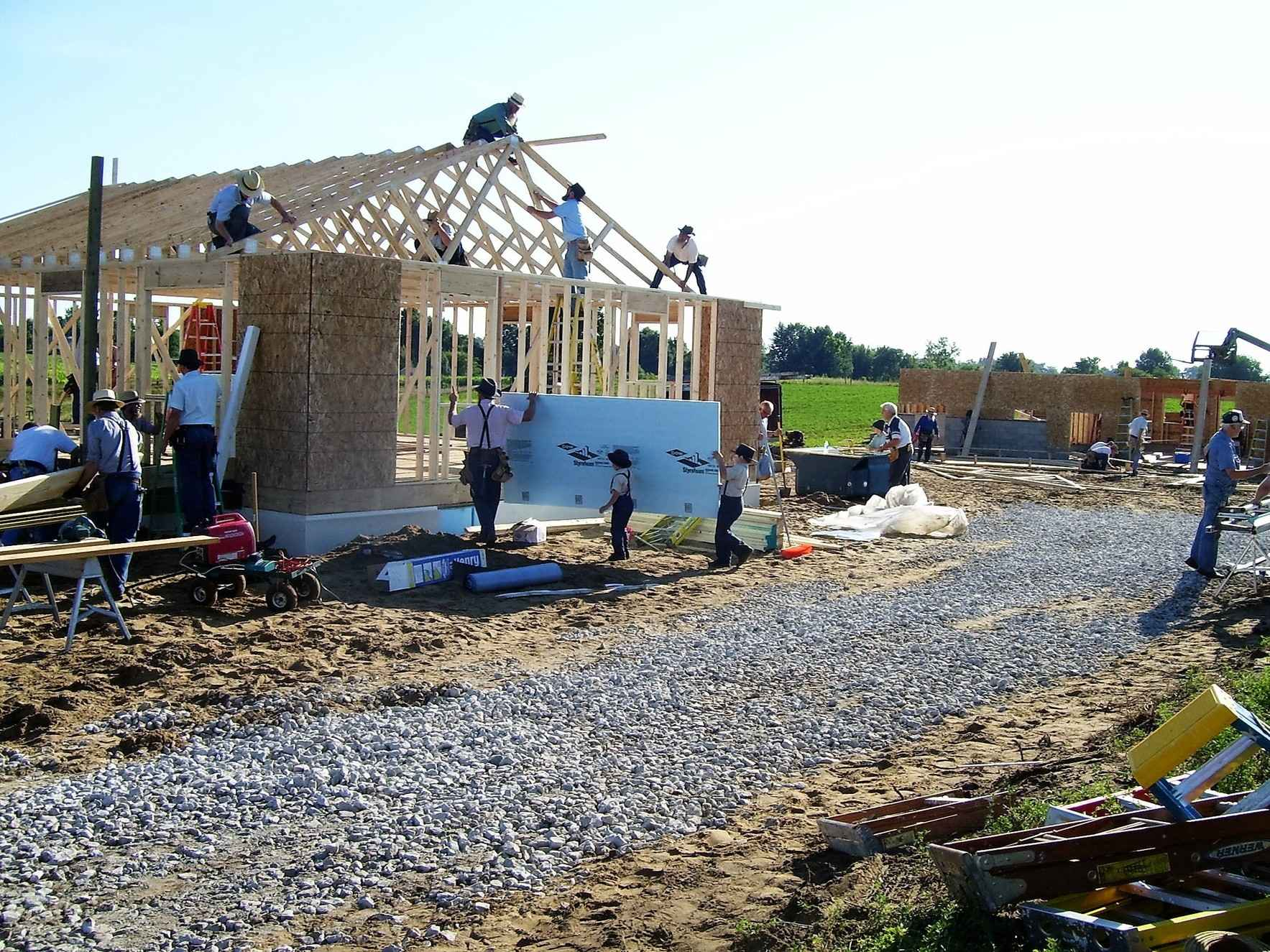 We Wish to Build Two New Homes and Complete Four Home Repairs image