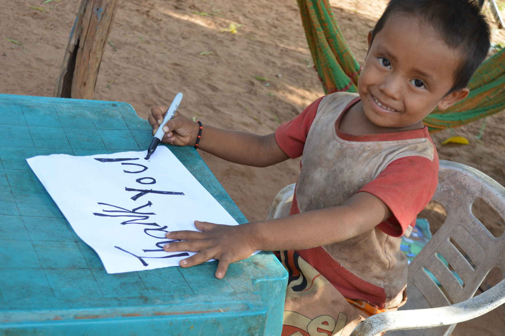 For $50 a month you can support a Wayuu child in Venezuela image
