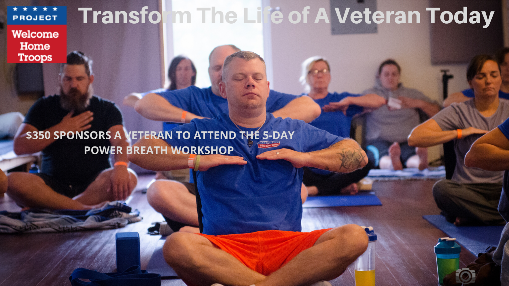 Express Your Gratitude to Our Veterans By Making A Gift Today image