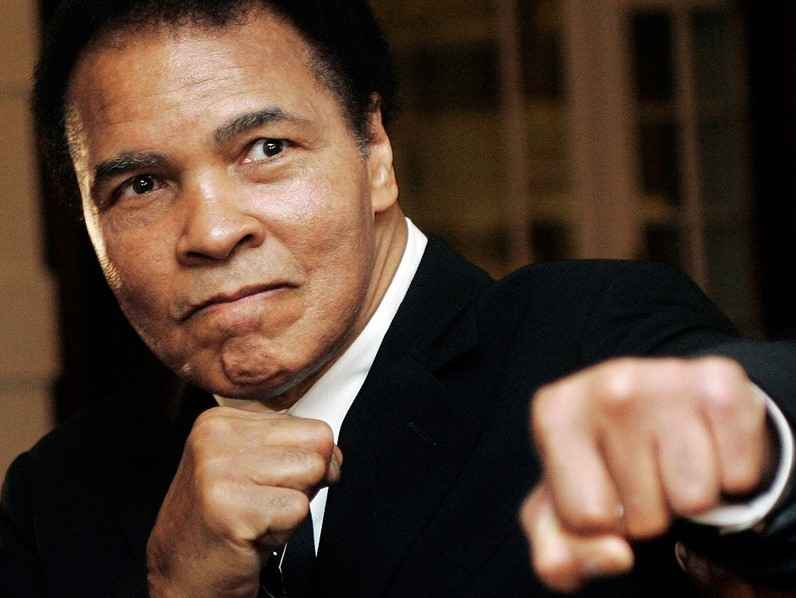 Support the First and Only Graduate Scholarship in Honor of the People's Champion Muhammad Ali! image