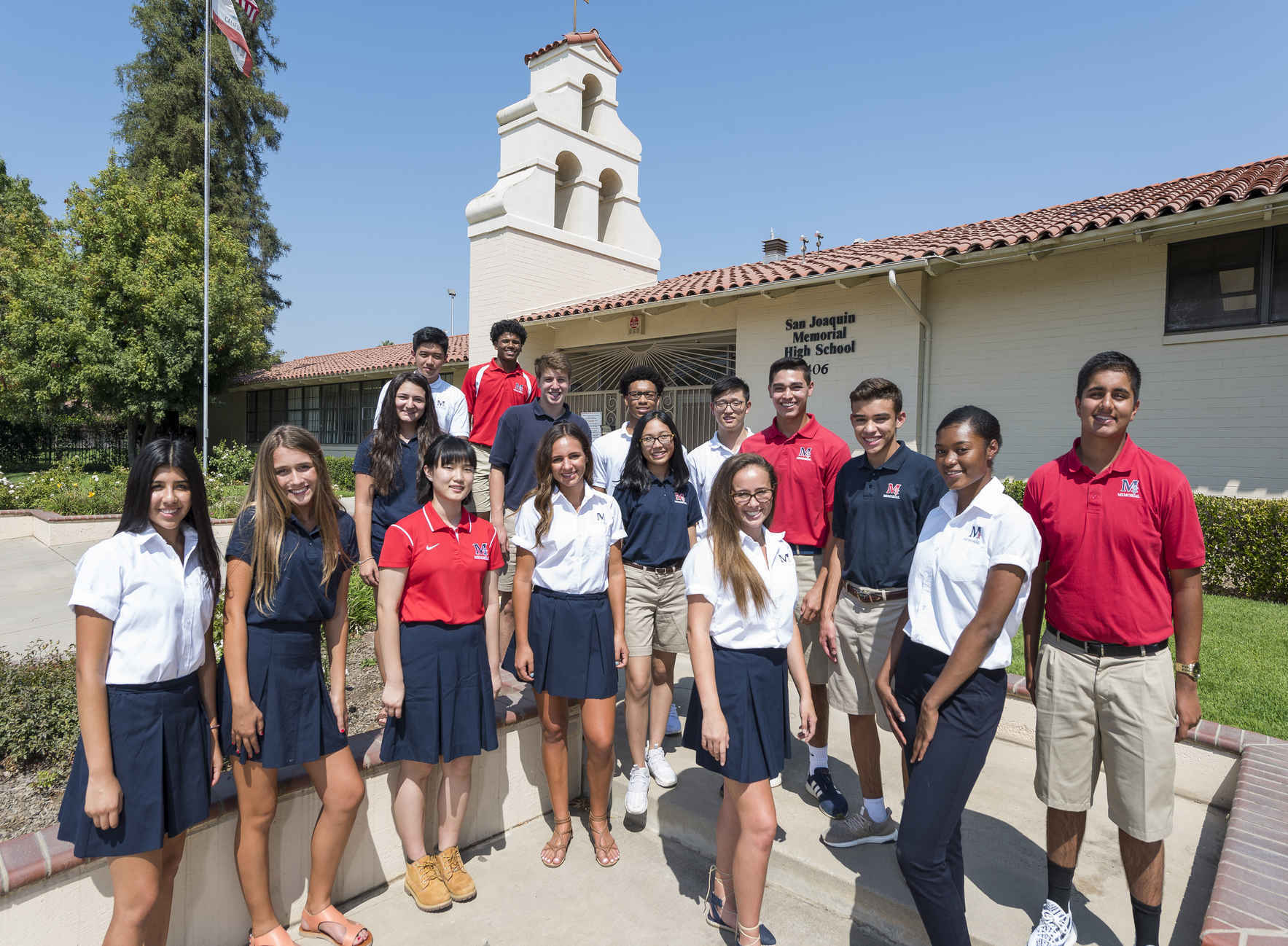 When you support San Joaquin Memorial, you make a difference in the lives of our students.  image