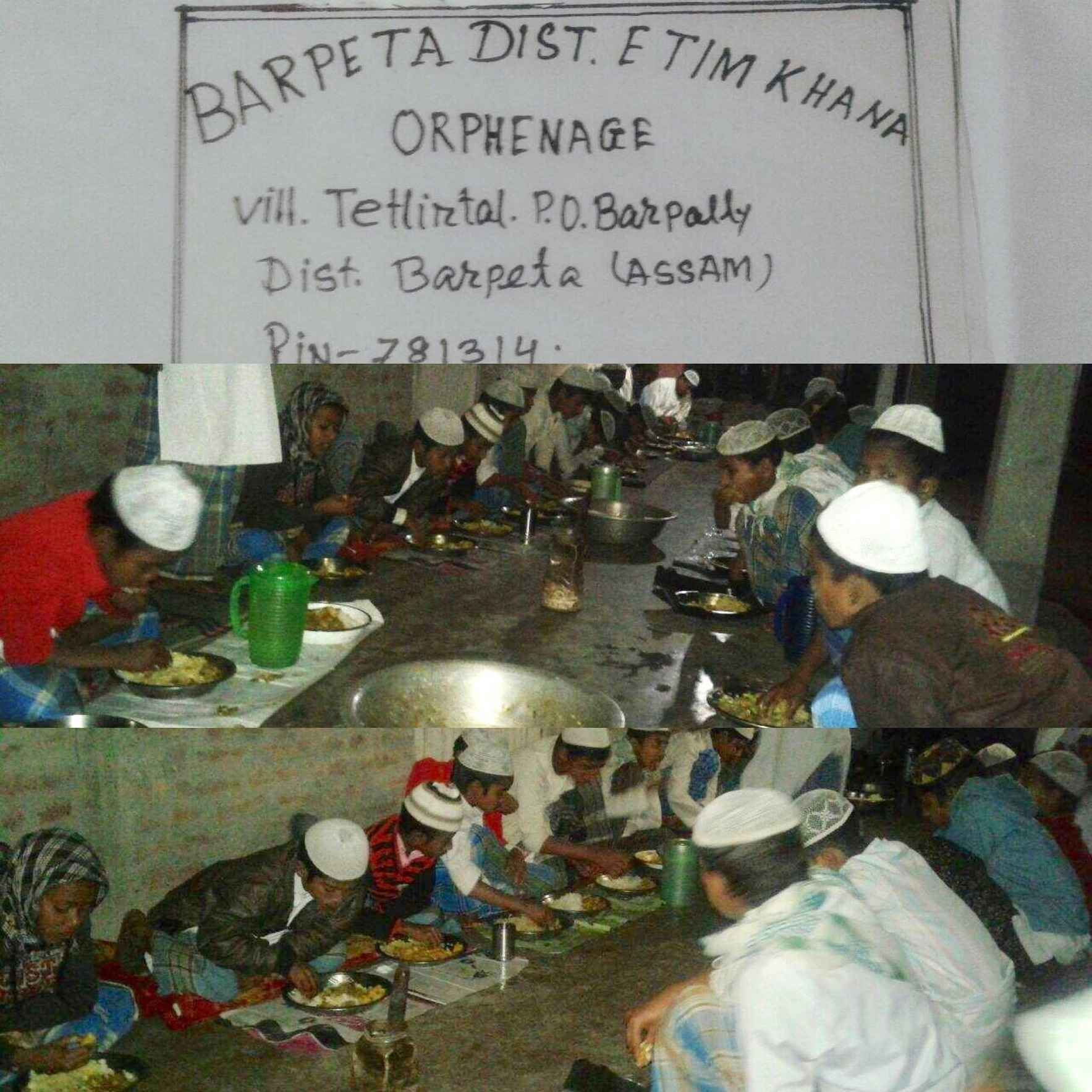 Kaffarah/Fidyah/Zakat for Orphanage in Assam, India image