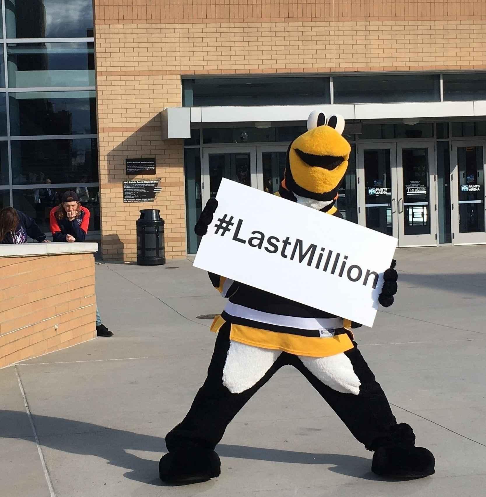 It's our #LastMillion image