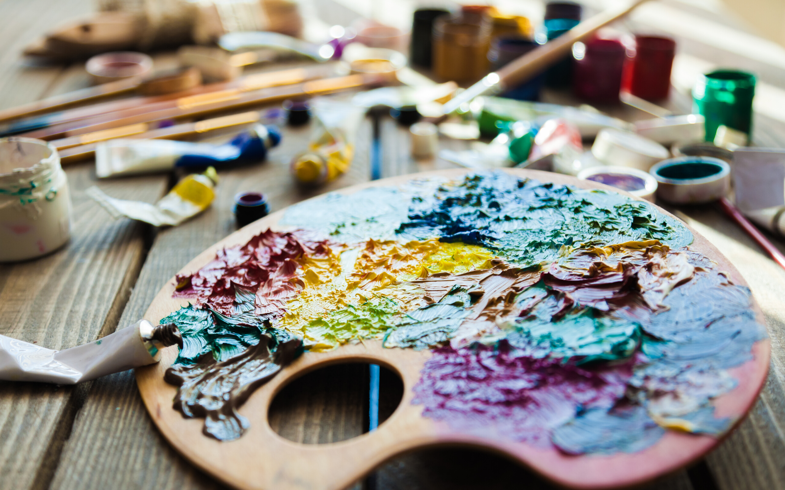 Help We Care Arts Change Disabilities into Possibilities Through Art image