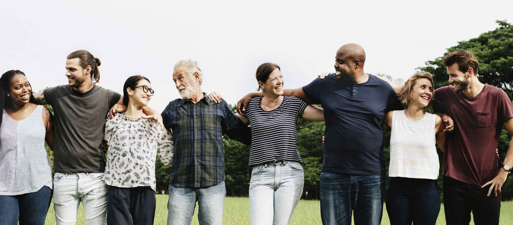 Improving individual and community wellbeing through relationships  image