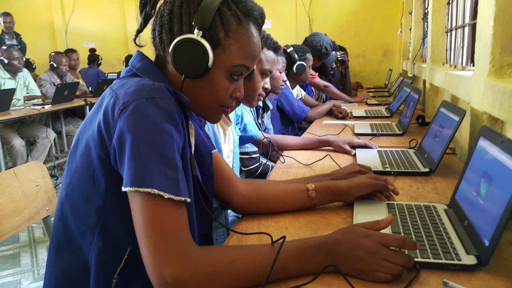 Give 100,000 of the smartest and brightest students of rural Ethiopia access to the technology they need. image