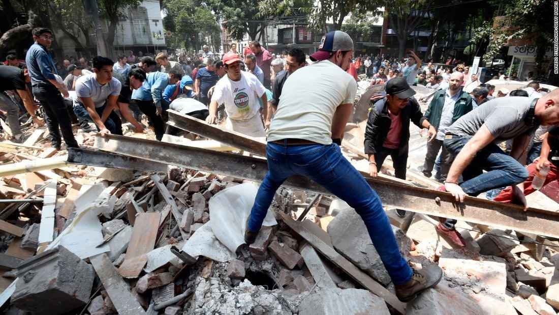 Donate now to fund Mexico Earthquake recovery image