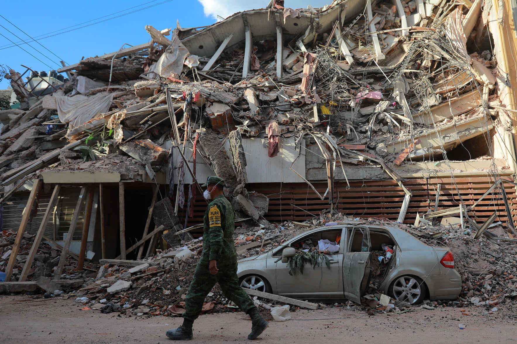 Donate now to help the victims of Mexico Earthquake image
