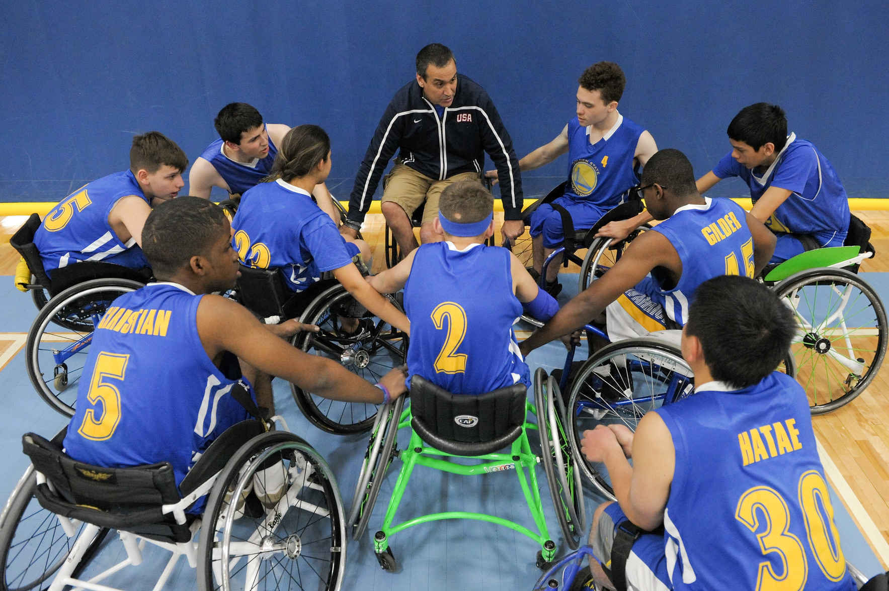 Support sports and recreation for people with physical disabilities. image