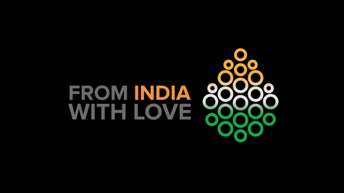 "Donate now for ""From India with Love"" initiative image"