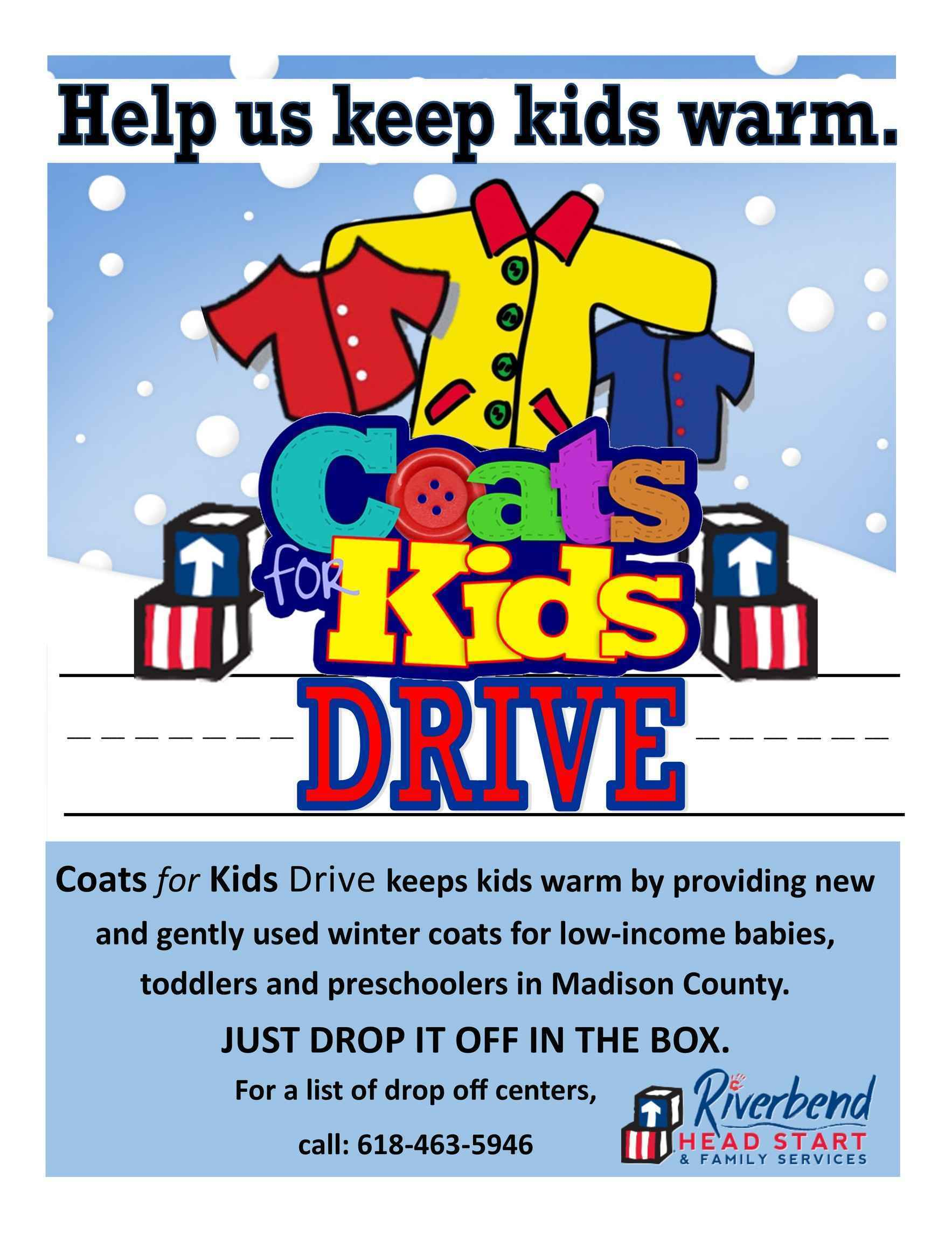 Give to Keep Kids Warm this Winter! image