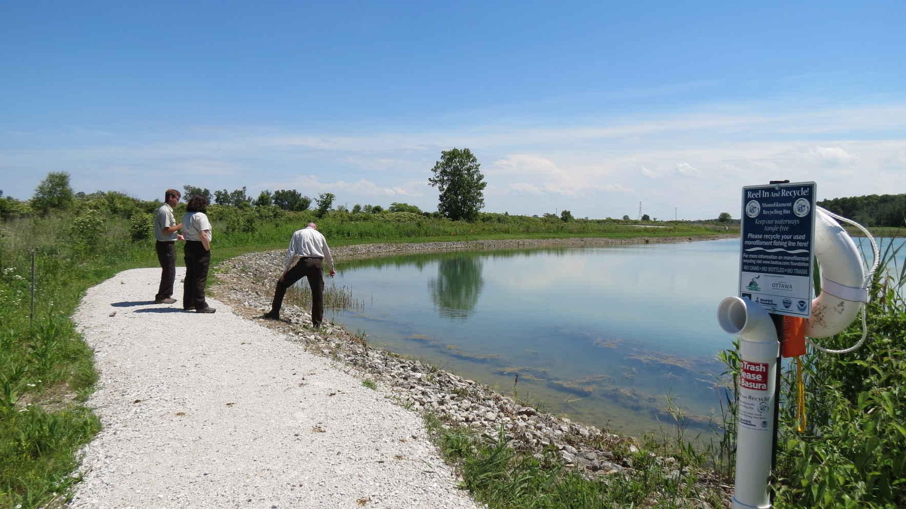 Help fund the youth fishing access at Ottawa National Wildlife Refuge image