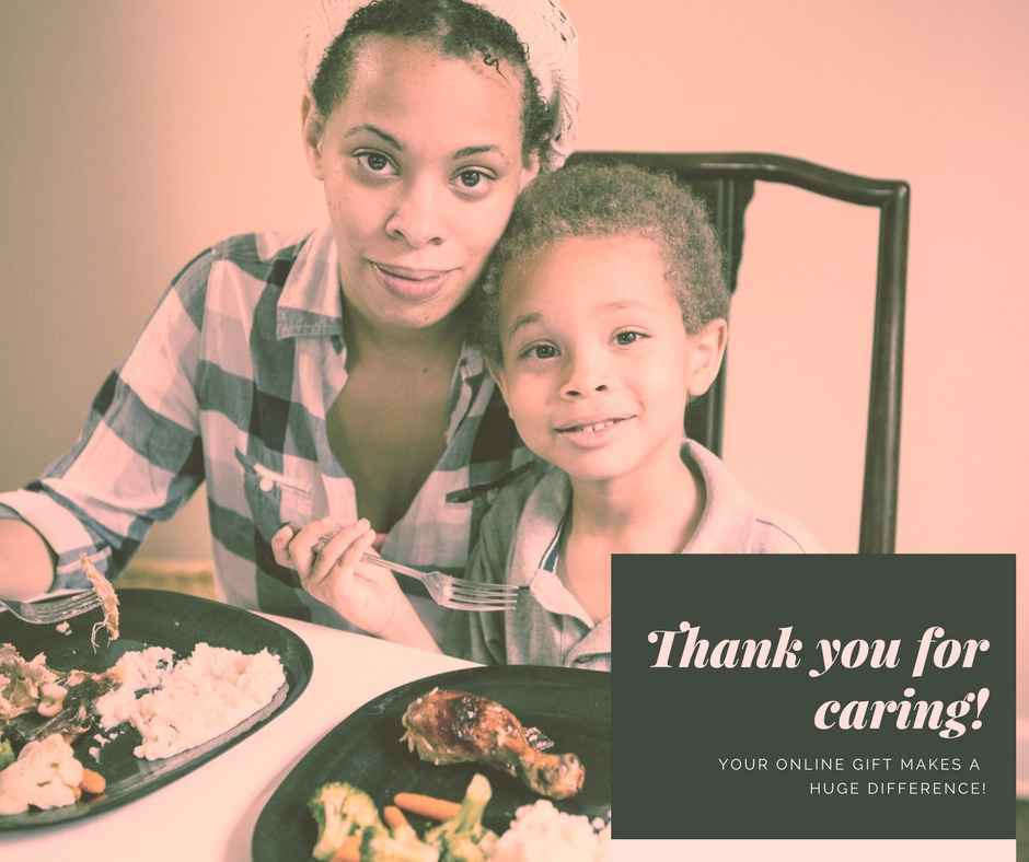 Give to make a difference in the lives of those facing hunger in our neighborhoods. image
