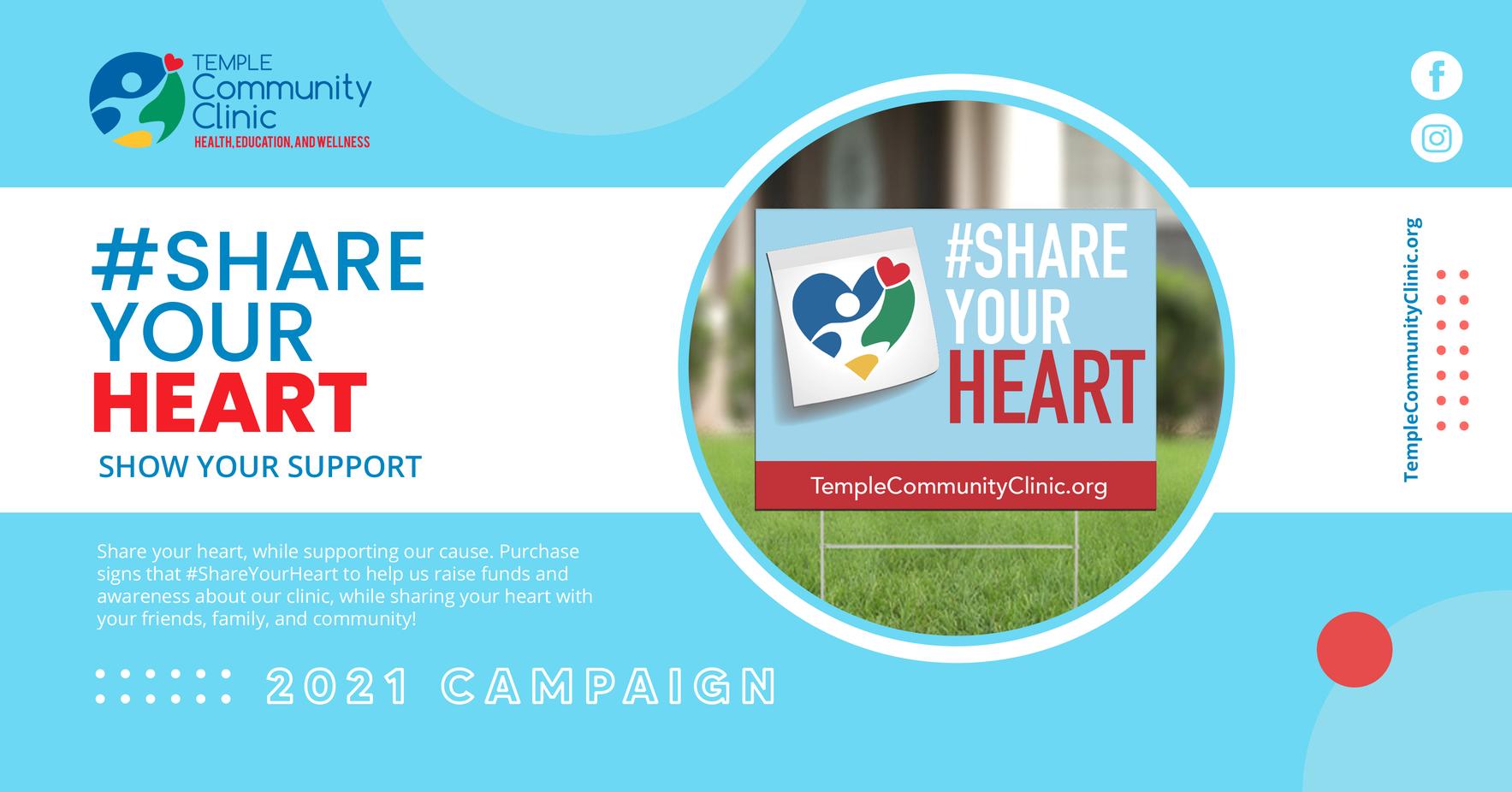 #ShareYourHeart image