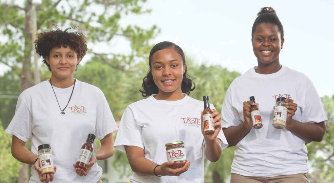 Help us empower determined youth with the skills and knowledge needed to run a socially responsible business that will make a positive impact on social, economic, and educational issues throughout their community. image