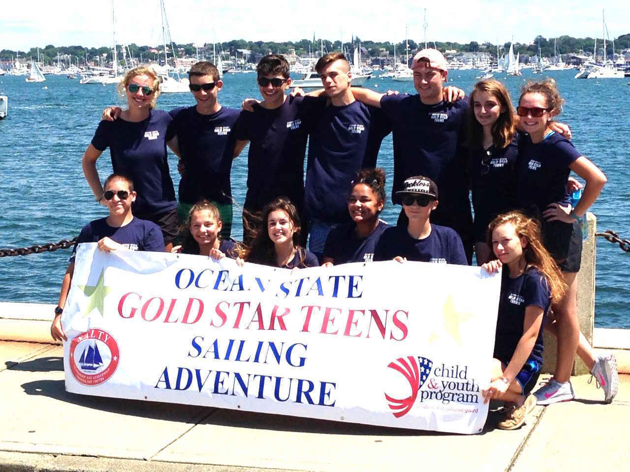 Support SALTY's Gold Star Healing / Sailing Adventure! image
