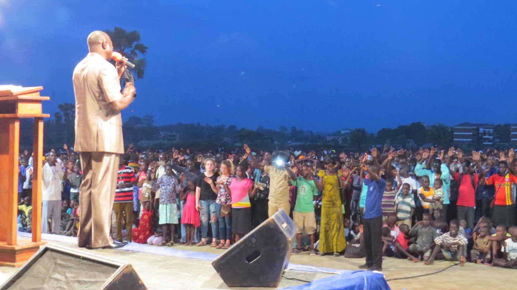 Sharing the Good News of Christ in Uganda image