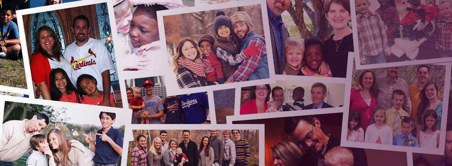 Christian Families caring for kids in Foster Care image