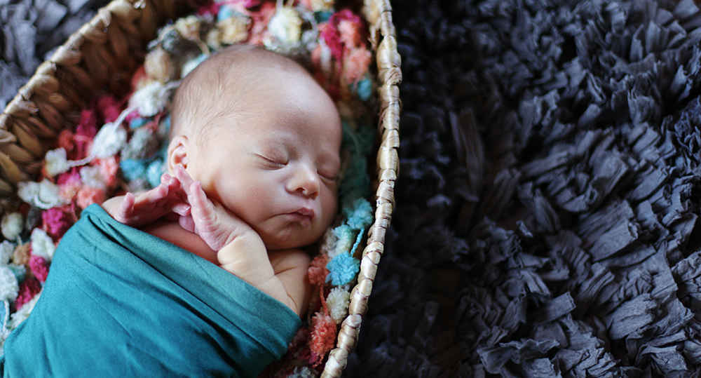 Donate today and give a baby a loving welcome! image